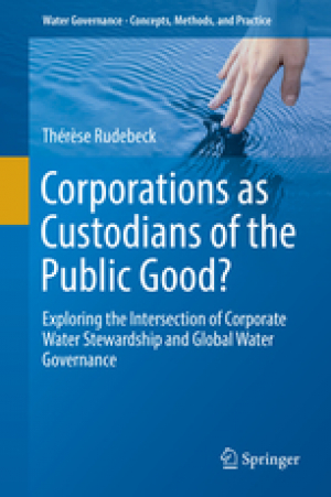 Corporations as custodians of the public good? (Rudebeck, 2019)
