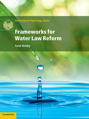 Frameworks for water law reform (Hendry, 2015)